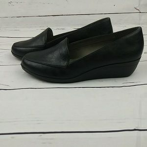 Aerosoles Wedge Black Shoes Size 9